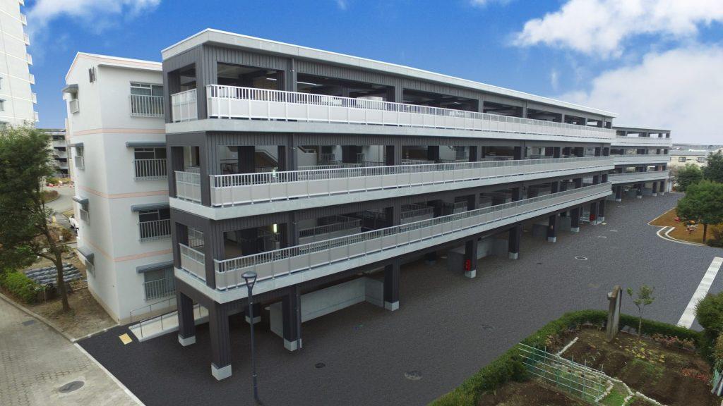 4.増築建物(M-1棟側) 外観 北面
